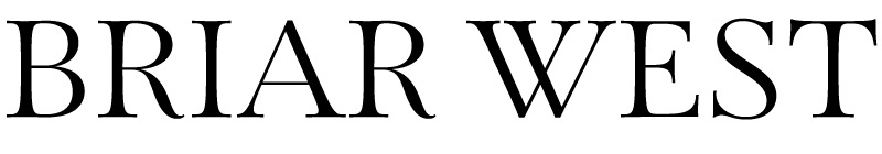 Briar West Studio Logo